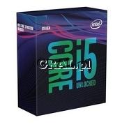 Intel Core i5 9600K 6x3.7/4.6 GHz BOX (LGA1151-G8, 9MB, UHD 630, 95W)  przedstawia grafika.