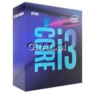 Intel Core i3 9100F 4x3.6 GHz BOX (LGA1151-G8, 6MB, 65W) przedstawia grafika.