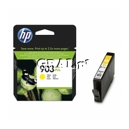 Wklad drukujacy HP No 903XL Yellow T6M11AE przedstawia grafika.