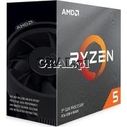 AMD Ryzen 5 3400G (3.7GHz, Quad Core, 6MB, RX Vega 11, 65W, BOX, AM4) przedstawia grafika.