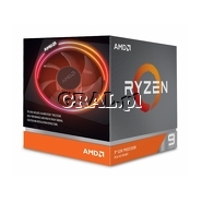 AMD Ryzen 9 3900X (3.9GHz, Twelve Core, 70MB, 105W, BOX, AM4) przedstawia grafika.