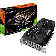Gigabyte GeForce GTX1660 Super OC, 6GB, DDR6, PCI-E, 3xDP, HDMI przedstawia grafika.
