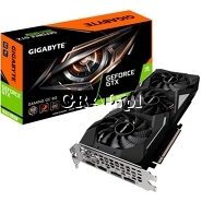 ˙Gigabyte GeForce GTX1660 Super Gaming OC,  6GB, DDR6, PCI-E, 3xDP, HDMI przedstawia grafika.