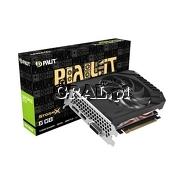 Palit GeForce GTX1660 Super StormX, 6GB, DDR6, PCI-E, DP, HDMI, DVI przedstawia grafika.