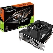 Gigabyte GeForce GTX1650 Super, 4GB, DDR6, PCI-E, DP, HDMI, DVI, SUPER OC przedstawia grafika.