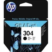 Wklad drukujacy HP No 304 Black N9K06AE przedstawia grafika.
