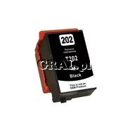 Tusz zamiennik Epson 202XL (T02G1 XL, Black) przedstawia grafika.