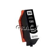 Tusz zamiennik Epson 202XL (T02H1 XL, Photo Black) przedstawia grafika.