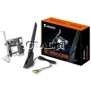 Gigabyte GC-WBAX200 karta sieciowa PCI-E Wireless 802.11ax + Bluetooth 5 przedstawia grafika.