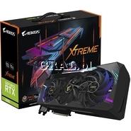 Gigabyte GeForce RTX3080 Aorus Xtreme 10GB, GDDR6X, 3xDP, 3xHDMI, PCI-E przedstawia grafika.