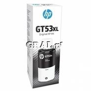 Tusz HP GT53XL 135ml 6000str (czarny) przedstawia grafika.