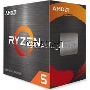 AMD Ryzen 5 5600X (3.7GHz, Six Core, 35MB, 65W, BOX, AM4) przedstawia grafika.