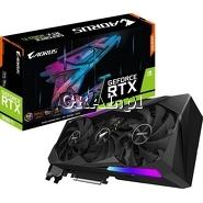 Gigabyte GeForce RTX3060TI Aorus Master, 8GB, GDDR6, 3xDP, 3xHDMI, PCI-E przedstawia grafika.