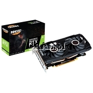 Inno3D GeForce RTX2060 Twin X2, 6GB, DDR6, PCI-E, 3xDP, HDMI przedstawia grafika.