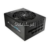 Zasilacz do obudowy ATX 1000W Fortron Hydro PTM Pro 80+ Platinum (Fan 135mm, Modularny) przedstawia grafika.